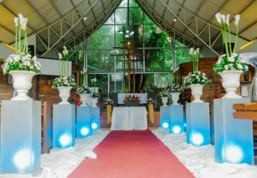Aisle Decor - Golden Star Flower Shop - Wedding Decorator in Davao