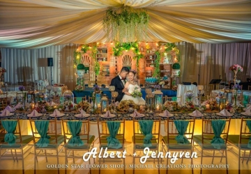 Albert & Jennyven - Golden Star Flower Shop - Wedding Decorator in Davao