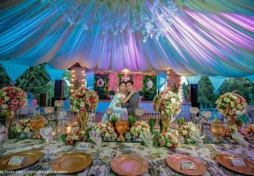Ang & Escobia - Golden Star Flower Shop - Wedding Decorator in Davao