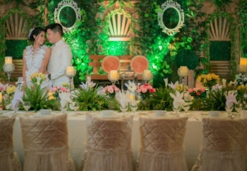 Bryan & Joanna - Golden Star Flower Shop - Wedding Decorator in Davao