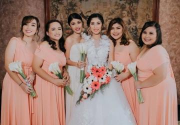 Bryan & Joanna - Golden Star Flower Shop - Wedding Decorator in Davao
