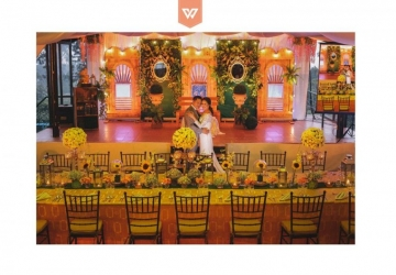 Dexter & Marian - Golden Star Flower Shop - Wedding Decorator in Davao
