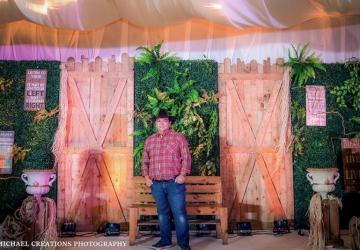 Edgar @ 50 - Golden Star Flower Shop - Wedding Decorator in Davao