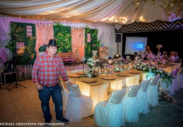 Edgar @ 50 - Golden Star Flower Shop - Wedding Decorator in Davao