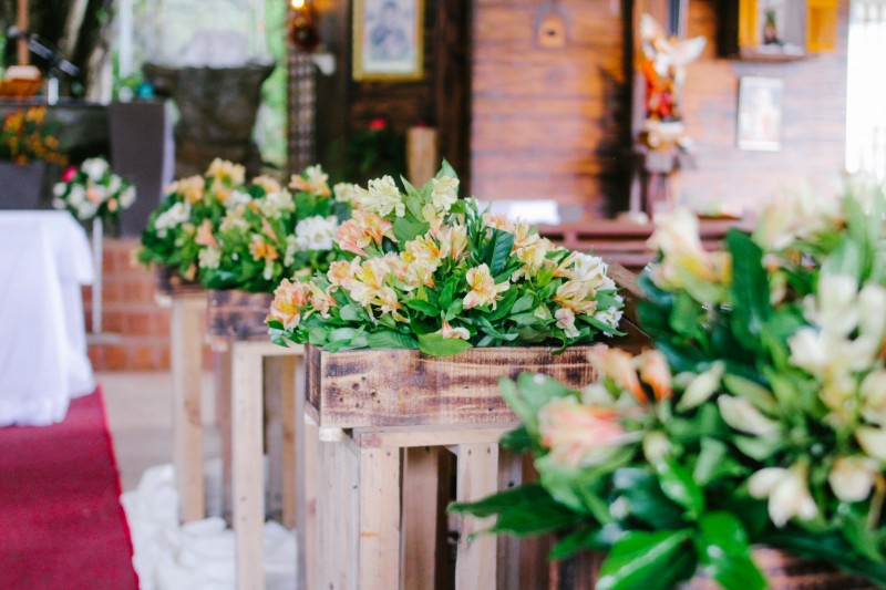 glenn and clair - Golden Star Flower Shop - Wedding Decorator in Davao