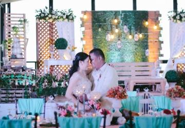 glenn and clair - Golden Star Flower Shop - Wedding Decorator in Davao