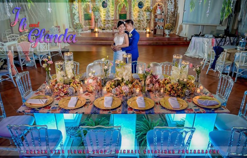 Jb & Glenda - Golden Star Flower Shop - Wedding Decorator in Davao