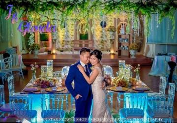 Jb & Glenda - Golden Star Flower Shop - Wedding Decorator in Davao