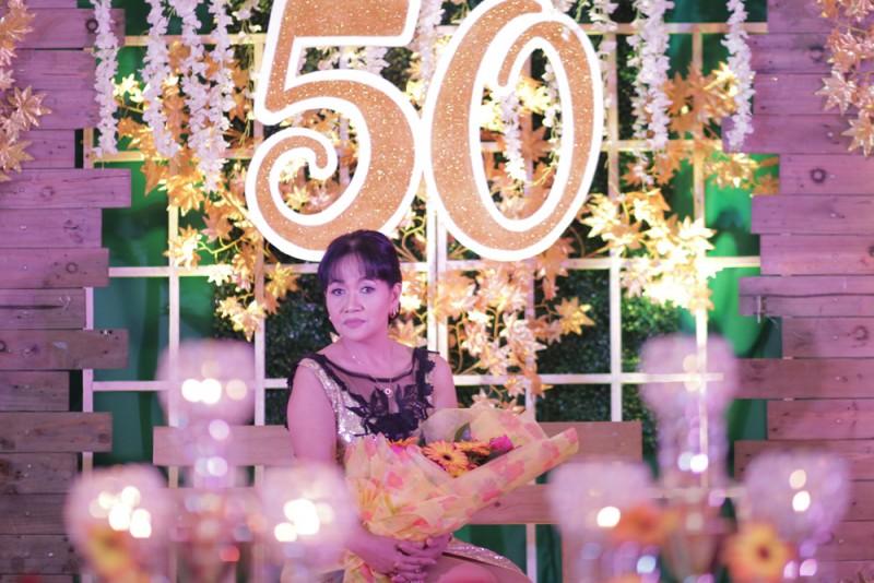 Jocelyn @ 50 - Golden Star Flower Shop - Wedding Decorator in Davao