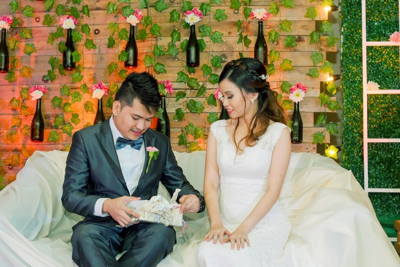 Khevin & Irene Wedding - Golden Star Flower Shop - Wedding Decorator in Davao