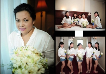 Marian & Sundei Wedding - Golden Star Flower Shop - Wedding Decorator in Davao