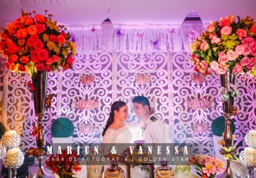 Marjun & Vanessa - Golden Star Flower Shop - Wedding Decorator in Davao
