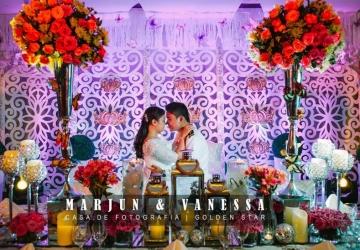 Marjun & Vanessa - Golden Star Flower Shop - Wedding Decorator in Davao