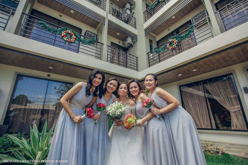Mark & Michelle - Golden Star Flower Shop - Wedding Decorator in Davao