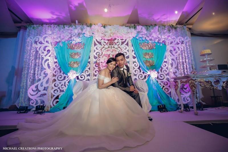 Noel & Tonet - Golden Star Flower Shop - Wedding Decorator in Davao