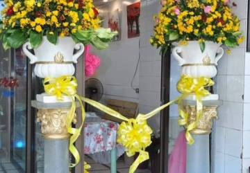 Opening Flower Decor - Golden Star Flower Shop - Wedding Decorator in Davao