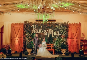 Paul & May - Golden Star Flower Shop - Wedding Decorator in Davao