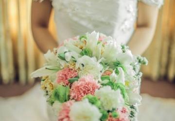 Paul & May - Golden Star Flower Shop - Wedding Decorator in Davao