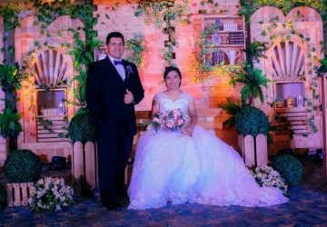 Pete & Jom Wedding - Golden Star Flower Shop - Wedding Decorator in Davao