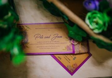 Pete & Jom Wedding - Golden Star Flower Shop - Wedding Decorator in Davao