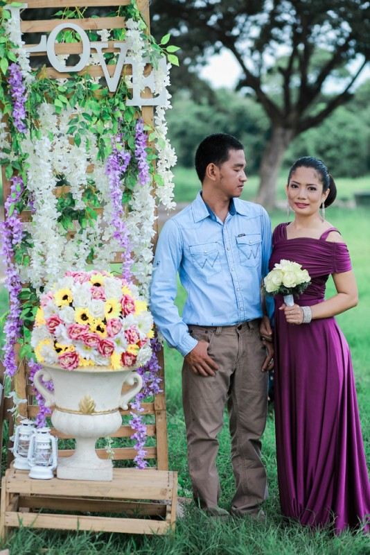 Prenup Decor - Golden Star Flower Shop - Wedding Decorator in Davao