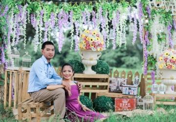 Prenup Decor - Golden Star Flower Shop - Wedding Decorator in Davao