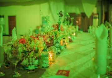 Presidential Table / Centerpiece Decor - Golden Star Flower Shop - Wedding Decorator in Davao