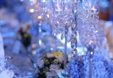 Presidential Table / Centerpiece Decor - Golden Star Flower Shop - Wedding Decorator in Davao