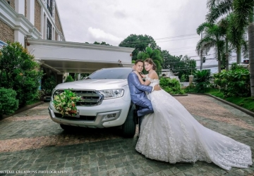 Roger & Ann - Golden Star Flower Shop - Wedding Decorator in Davao