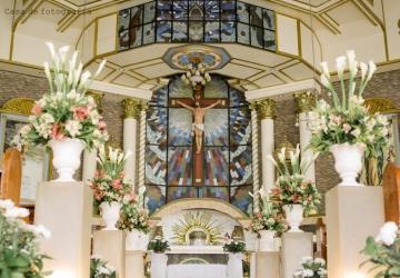 Ronald & Oyz Wedding - Golden Star Flower Shop - Wedding Decorator in Davao