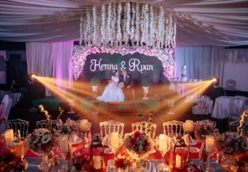 Ryan & Henna - Golden Star Flower Shop - Wedding Decorator in Davao