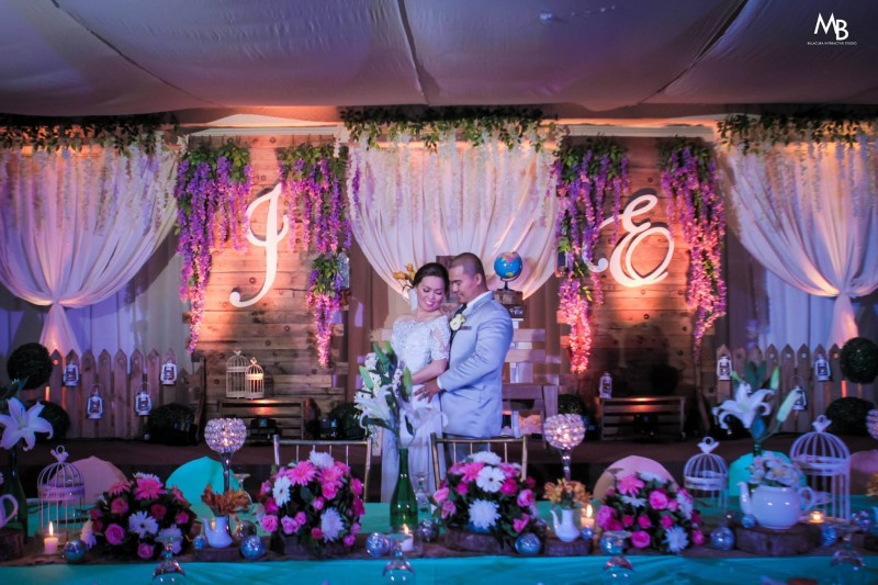 Samonte & Go Wedding - Golden Star Flower Shop - Wedding Decorator in Davao