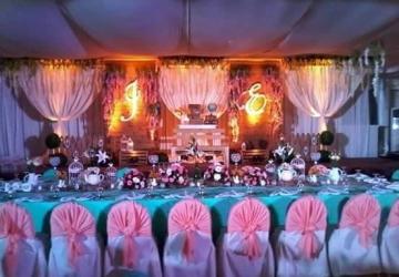 Samonte & Go Wedding - Golden Star Flower Shop - Wedding Decorator in Davao