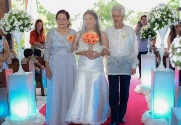 Scott & Cha Wedding - Golden Star Flower Shop - Wedding Decorator in Davao