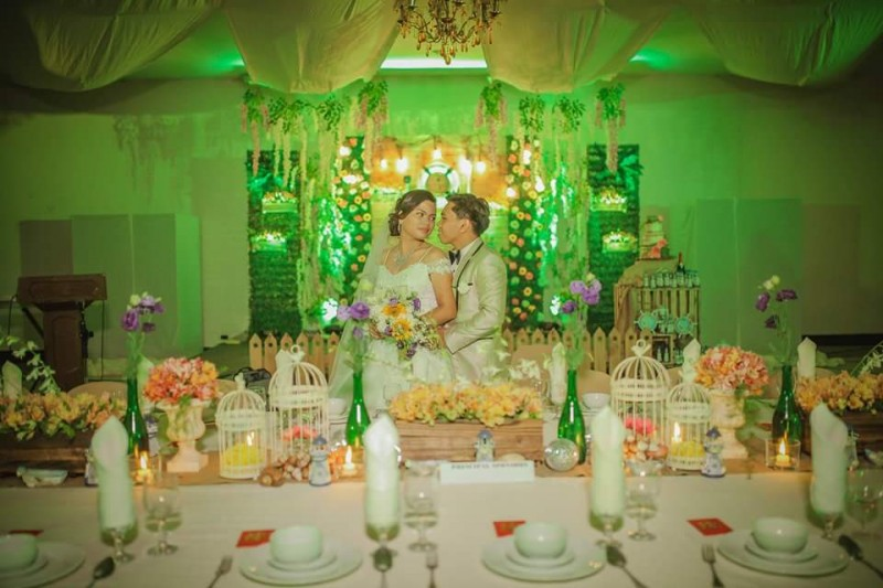 Sente & Gamao Wedding - Golden Star Flower Shop - Wedding Decorator in Davao