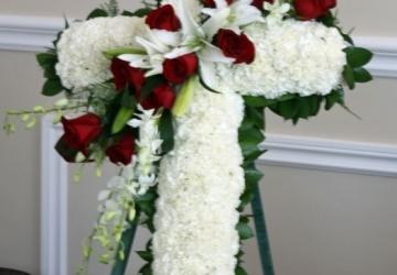 Sympathy / Funeral Bouquet - Golden Star Flower Shop - Wedding Decorator in Davao
