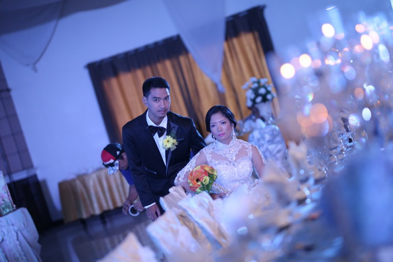 Tyron & Algie Wedding - Golden Star Flower Shop - Wedding Decorator in Davao