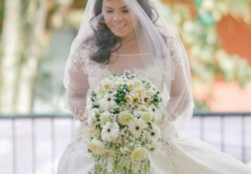 Wedding Bouquet - Golden Star Flower Shop - Wedding Decorator in Davao