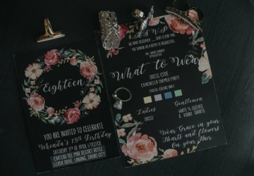 Whenda @ 18 - Golden Star Flower Shop - Wedding Decorator in Davao
